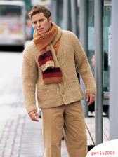 Шапка и шарф вязаные спицами женская модель.  Для вязания шарфа Для...